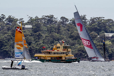 Extreme Sailing Sydney 2014