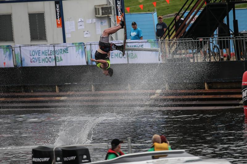 Moomba Masters water sking