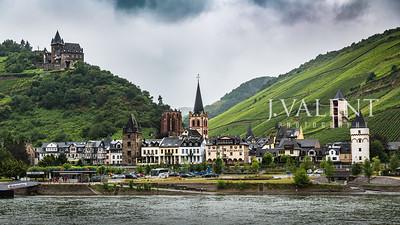 Germany - Marksburg Castle to Rudesheim on the Rhein
