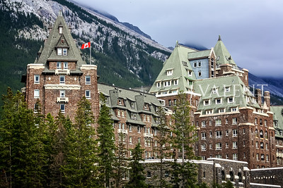 National Parks of Canada, Banff AB - The Fairmont Banff Springs Hotel