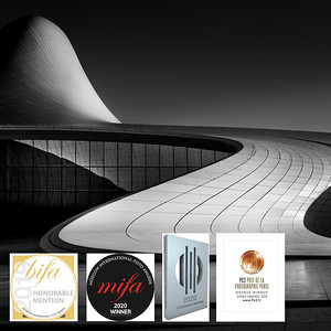 Heydar Aliyev Curves and Inflections (Series of 5)