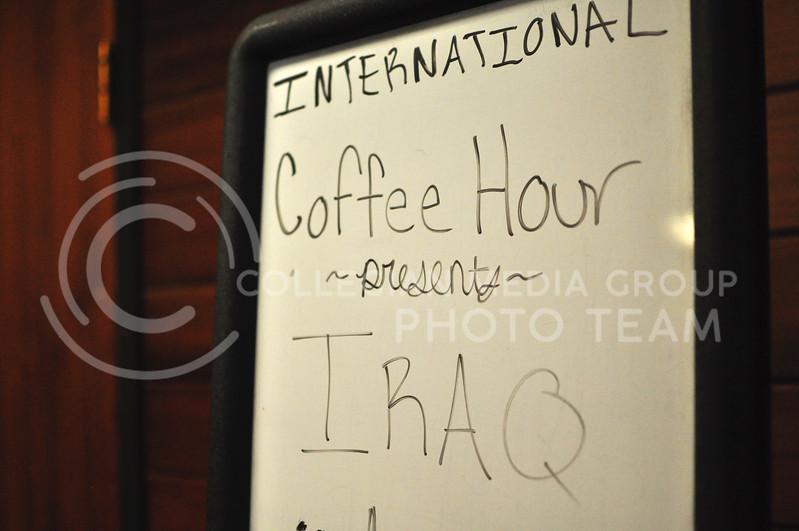 International Coffee Hour in Manhattan, Kan. on Sept 22, 2017 (Blake Reid | Collegian Media Group)