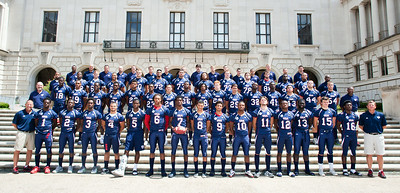 USA Football group photo in Austin, Texas on July 5, 2012.