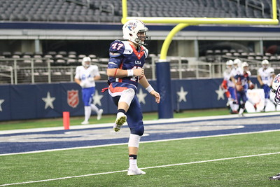 U.S. National Select Team vs. IFAF World Team