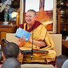 Gen-la gives commentary on refuge and bodhichitta.