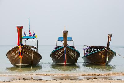 3 Thai Boats