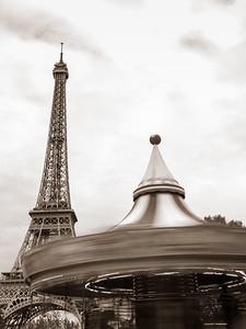 Paris Carousel in Motion