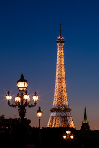 Lights of the Eiffel Tower