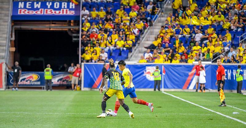 Ecuador vs Jamaica