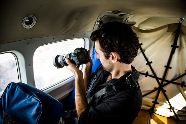 Behind the scenes photos, domestic flight to Gulu, a town in Northern Uganda