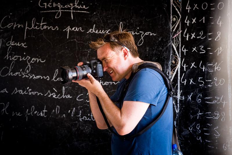 Behind the scenes, Alexander Whittle