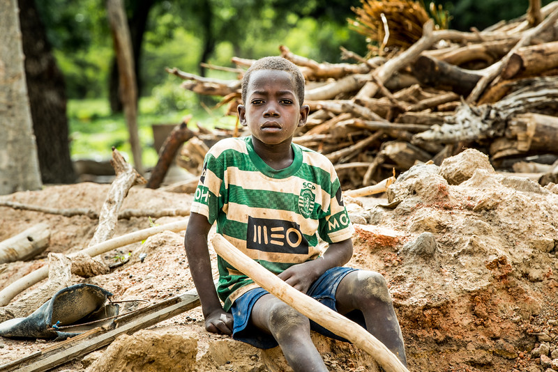 Boy in community where Compassion has an implementing church partner, no siblings in the program