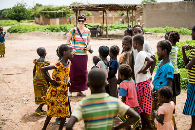 Behind the scenes, Aveleen Schinkel, Compassion Canada