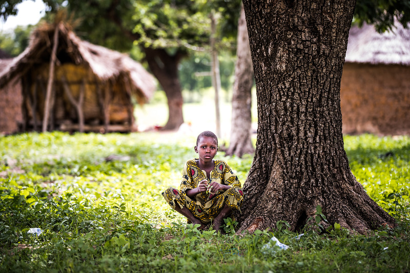 Sayouba, sibling of a Compassion registered child, rural Burkina Faso