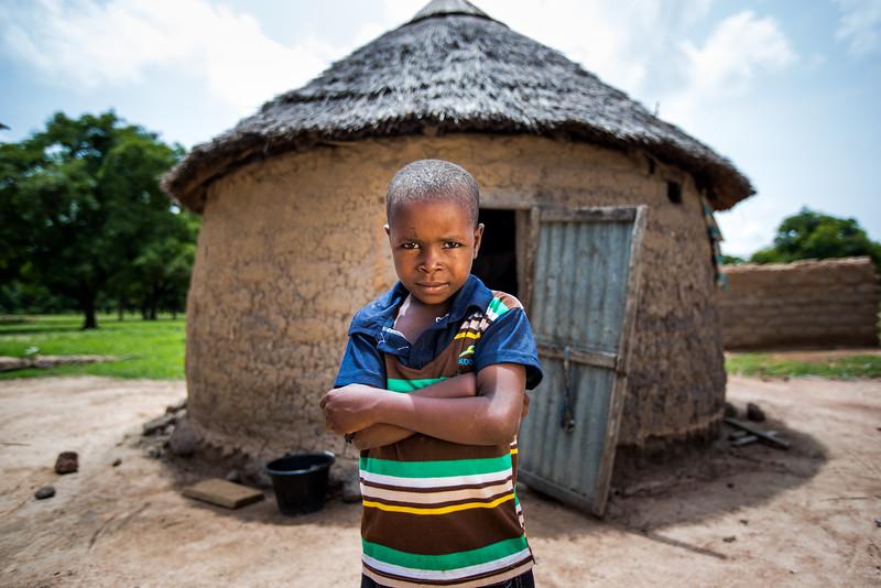 Compassion registered child, Issouf Diallo