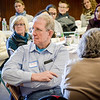 Mike Rich listens intently at the International Institute Conference which was held to discuss the next steps as far as the Trump administration's travel ban. SUN/Caley McGuane