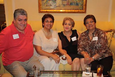 Mission Lunch 2012  - John Ross Sima, SJ (Peru) & Joe Mulligan, SJ (Nicaragua)