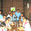 Children share a meal in the dining hall at Good Shepherd School in Gunjung, the first Jesuit School in the North Cachar Hills.