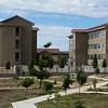 Dorms at St. Peter Claver High School in Dodoma, Tanzania