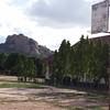Basketball Court at St. Ignatius Prep and Primary School in Dodoma, Tanzania
