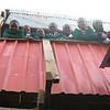 Students on the second floor of the original school in the heart of Kibera Slum.