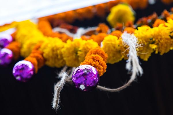 Hindu Floral Arrangment