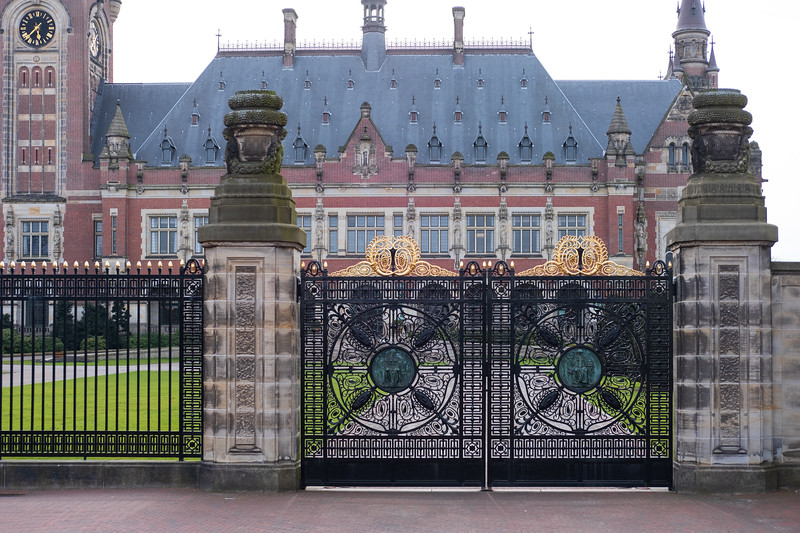 The Peace Palace. The Hague. April 06 2018.