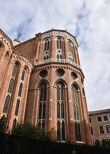 This is the eastern end of the S. Giovanni cathedral