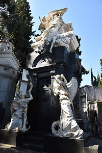 An interesting sculpture in the cemetary.