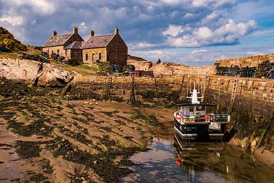 Cove Harbour, Scotland
