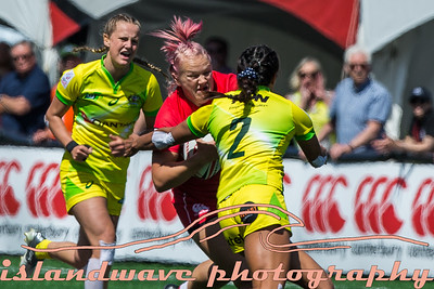 HSBC Canada Women's Sevens 2018, Day 1