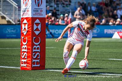 HSBC Seven's Series, USA v England