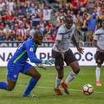 The US Men's National Team vs Trinidad & Tobago, 2018 FIFA World Cup Qualifying  soccer game, presented by Liberty Mutual Insurance, at Dick's Sporting Goods Park in Commerce City, Colorado  ...