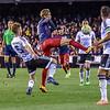 Valencia CF vs. Atletico de Madrid in a La Liga game at Mestalla Stadium, in Valencia, Spain.  The final score of the game was Valencia - 1 and Atletico de Madrid - 3