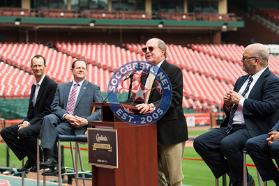 St. Louis Cardinals announce Liverpool FC vs AS Roma International Friendly soccer game at Busch Stadium
