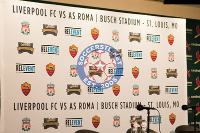 Liverpool vs AS Roma Day Before Match