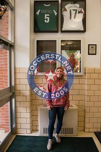 Lori Chalupny Visits Nerinx Hall