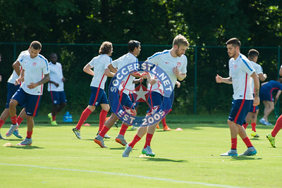 Tim Ream and USMNT Train on Off Day in Kansas City