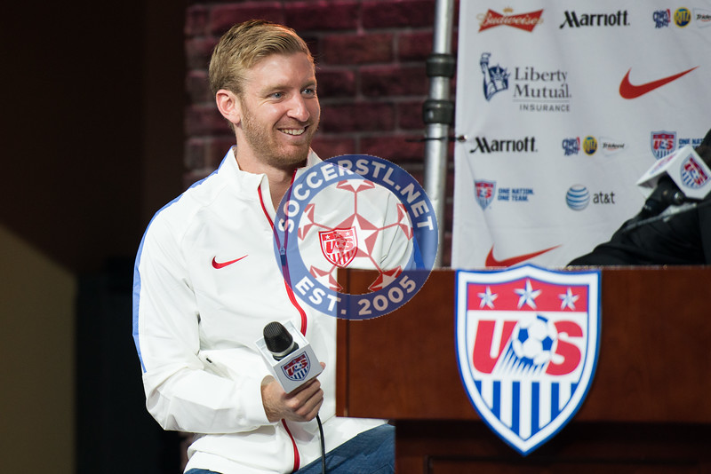 Tim Ream and Lori Chalupny Featured at USMNT Qualifying Game at Busch Stadium Press Conference