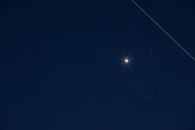 Venus Pleiades ISS