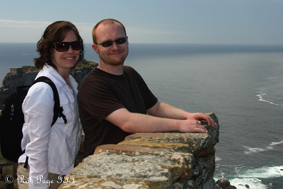 Jen and Jon enjoying Cape Point - Cape Town, South Africa ... March 12, 2010 ... Photo by Rob Page III