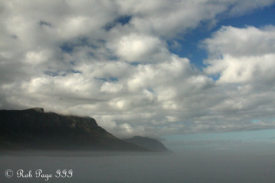 Sunrise along the Atlantic - Cape Town, South Africa ... March 12, 2010 ... Photo by Rob Page III