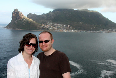 Jen and Jon at Hout Bay - Cape Town, South Africa ... March 12, 2010 ... Photo by Rob Page III