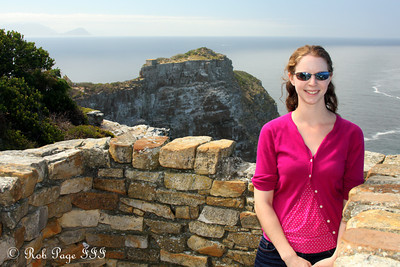 Emily enjoys Cape Point - Cape Town, South Africa ... March 12, 2010 ... Photo by Rob Page III