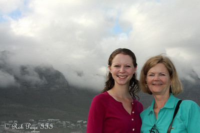 Emily and Maggie - Cape Town, South Africa ... March 12, 2010 ... Photo by Rob Page III