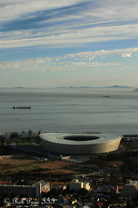 Cape Town Stadium, home of one of the 2010 World Cup semifinal matches - Cape Town, South Africa ... March 11, 2010 ... Photo by Rob Page III