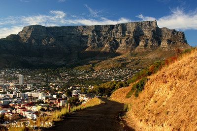 Table Mountain stand stoically above Cape Town - Cape Town, South Africa ... March 11, 2010 ... Photo by Rob Page III