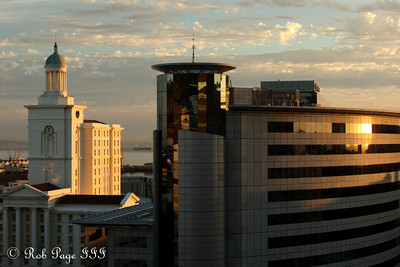 A beautiful morning from the hotel room - Cape Town, South Africa ... March 11, 2010 ... Photo by Rob Page III