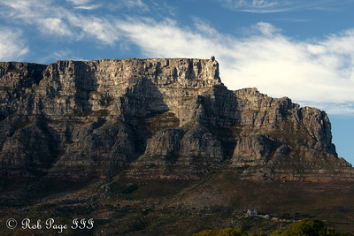 Table Mountain - Cape Town, South Africa ... March 11, 2010 ... Photo by Rob Page III