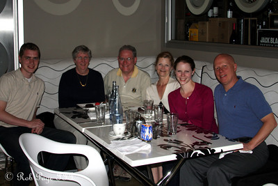 Enjoying a lovely dinner - Cape Town, South Africa ... March 8, 2010 ... Photo by Rob Page III